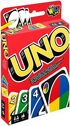 Preisvergleich Produktbild Mattel W2087 - Uno, Kartenspiel