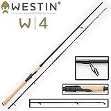 Westin W4 Powershad 270 cm MH 15-40g Spinnrute Spinnrute für Hecht, Zander, Barsch, Forellen Angelrute zum Hechtangeln, Rute zum Zanderangeln, Angel zum Spinnfischen, 2-teilige Rute