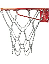 Champion Sports Heavy Duty Metal Chain Link Zinc Steel Durable Basketball Net