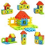 Effy Shoppy Junior Home Building Blocks Toy Set For Kids - Multicolor 16pcs Big Blocks