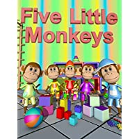 Five Little Monkeys - Nursery Rhymes Video for Kids