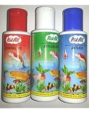 Rid All 3 In 1 Fish Medicine Pack 120Ml Each (Anti Chlorine, Anti Ich, General Aid)