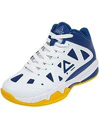 Zapatos Peak Victor Junior azul/blanco, Bleu / Jaune, 39