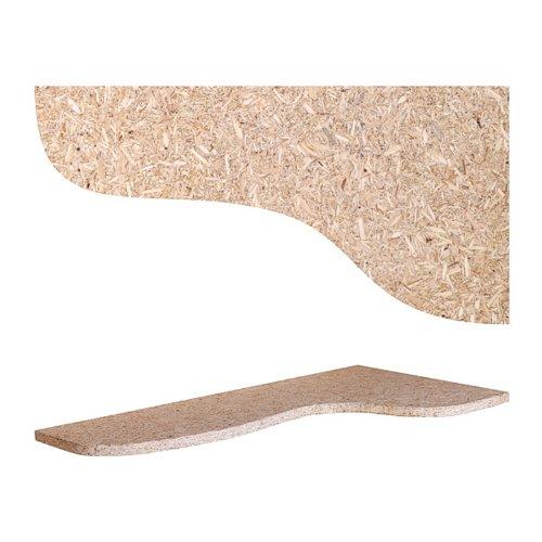 Liegebrett Ablage Einlegeboden Ebene 40x25 cm für Terrarium OSB