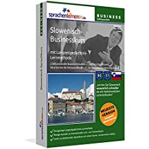 Slowenisch-Businesskurs, DVD-ROM Slowenisch-Sprachkurs mit Langzeitgedächtnis-Lernmethode. Niveau B2/C1. Integrierte Sprachausgabe mit über 3300 Audio-Vokabeln und Redewendungen