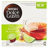 NESCAFÉ DOLCE GUSTO CITRUS HONEY BLACK TEA Tè al gusto di agrumi miele e zenzero 16 capsule