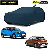 Rideofrenzy Body Armor Hyundai Elite i20 Car Cover with Mirror & Antenna Pocket-100% Waterproof Guaranteed