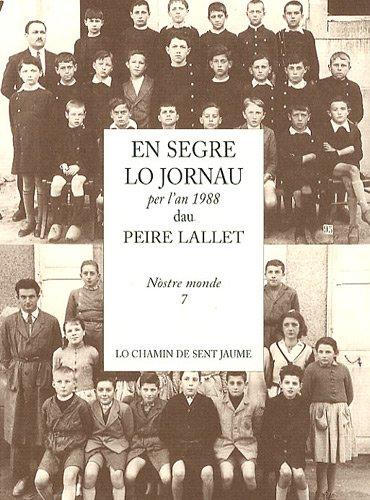 En segre lo jornau per l'an 1988 par Peire Lallet