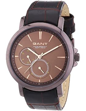 GANT Damen-Armbanduhr Analog Quarz Leder W70483