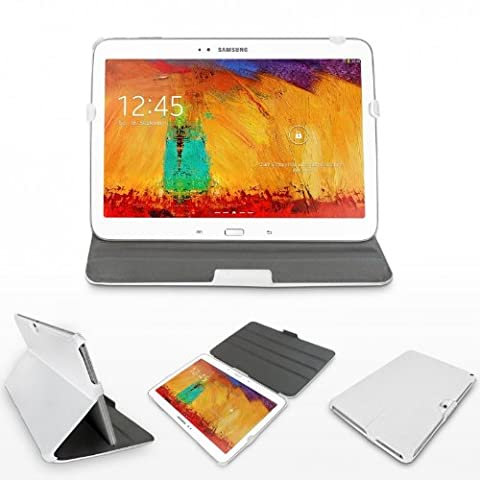 eFabrik Schutz Tasche für Samsung Galaxy Note 10.1 2014 Edition Hülle Case Tablet Cover Etui Schutzhülle Leder-Optik