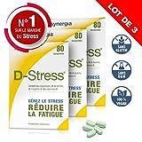 D-Stress  Magnesio, taurina, arginina y vitaminas B altamente asimilados  Origen Francia  Set de 3