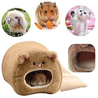 ROSENICE Plush Hammock for Hamster Warm Hanging Warm Soft Bed for Rat Rabbit from ROSENICE