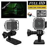 Rokoo Mini Full HD 1080P Videokamera Sport DV IR Nachtsicht Auto DVR Camcorder