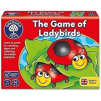 """Orchard Toys -  Le Jeu de Coccinelles """"Ladybirds Game"""" - Langue: anglais"""