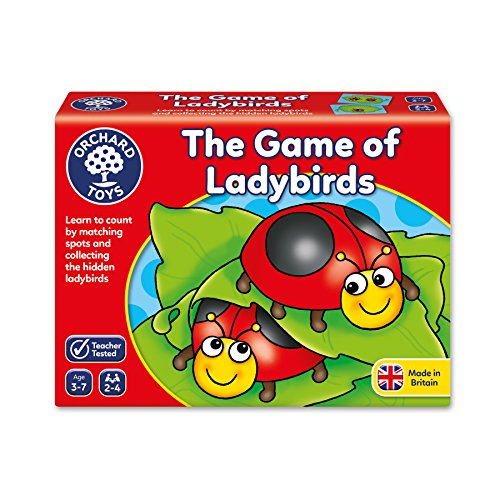 Orchard-Toys-The-Game-of-Ladybirds-Juego-educativo-para-aprender-a-contar-importado-de-Reino-Unido