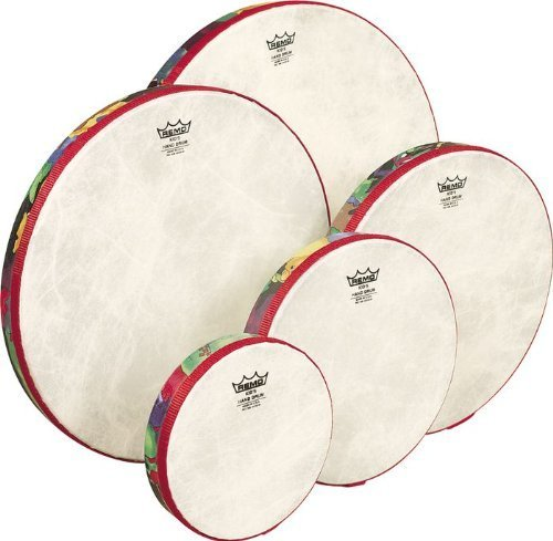 remo-kids-percussion-set-of-5-hand-drums-6-14-in-in-rainforest-design-age-5-by-remo