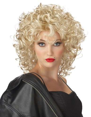 80s Bad Girl Blonde Wig for Ladies