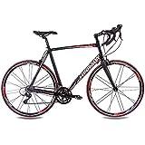 '28pulgadas Aluminio Bicicleta de carreras CHRISSON RELOADER 2015con 18velocidades Sora Carbon Tenedor Negro Mate, color , tamaño 59 cm (Sw 12), tamaño de rueda 28.00 inches