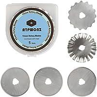ATPWONZ Cuchilla redonda - Cuter cuchilla de circular de 45 mm