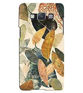Citydreamz Floral Print/Beautiful Design Hard Polycarbonate Designer Back Case Cover For Samsung Galaxy E5
