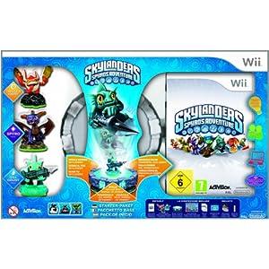 Skylanders: Spyro's Adventure – Starter Pack inkl. 3 Figuren – [Nintendo Wii]