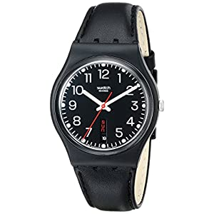 Swatch Gent Red Sunday GB 750 – Reloj Unisex de Cuarzo, Correa de