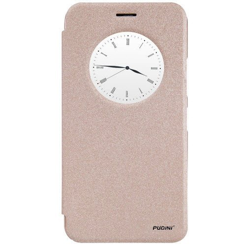 GoRogue Pudini Smart Leather Flip Stand Cover Case For Lenovo ZUK Z1 [Champagne Gold]  available at amazon for Rs.229
