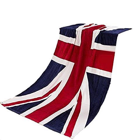 Culater® 70*140cm Absorbent Microfiber Bath Beach Towel Drying Washcloth Shower Flag