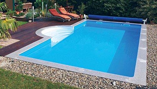Steinbach Massivpool, Bausatz Highlight 1, blau, 600 x 300 x 150 cm, 27000 L, 016280