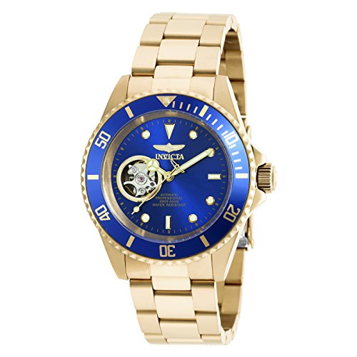 Invicta 20437 Pro Diver Unisex Wrist Watch Stainless Steel Automatic Blue Dial