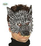 Guirca Wolf Latex Maske Halloween Horror Halloweenmaske Maske Tiermaske