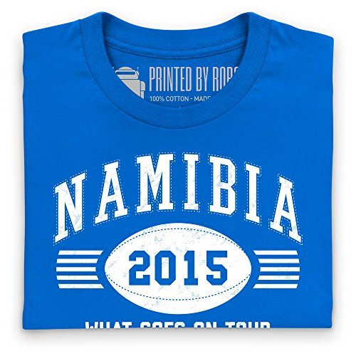 Namibia Tour 2015 Rugby T-Shirt, Herren Royalblau