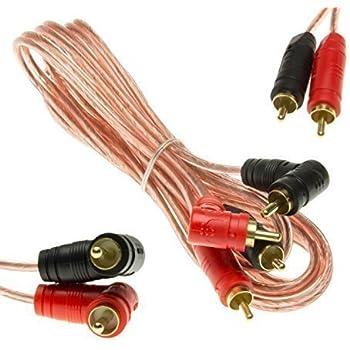 12 st ck 4 mm audio boxenkabel klinke stecker elektronik. Black Bedroom Furniture Sets. Home Design Ideas
