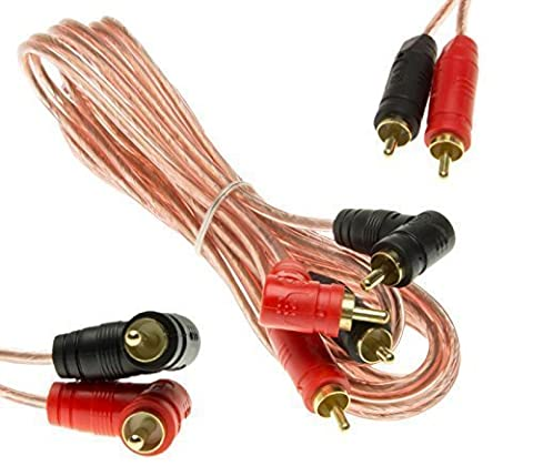 Adapter-Universe® Stereo Cinch Audio Kabel RCA Boxenkabel 2m Stecker f