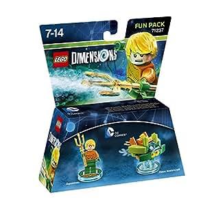 Figurine 'Lego Dimensions' - Aquaman - DC Comics Pack Aventure