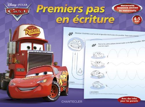 Disney Premiers pas en écriture - Cars (4-5 a.)
