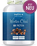 Proteinpulver WINTER CHAI 1kg - Proteinpulver Blend - hochdosiertes Eiweißpulver Special - Shape & Shake Eiweiß Pulver Weihnachten mit 6 Komponenten - Made in Germany