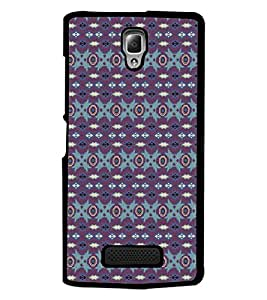 PrintDhaba Pattern D-5258 Back Case Cover for LENOVO A2010 (Multi-Coloured)