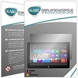 """2 x Slabo Displayschutzfolie Microsoft Surface Pro   Surface Pro 2 Displayschutz Schutzfolie Folie """"No Reflexion Keine Reflektion"""" MATT-Entspiegelnd MADE IN GERMANY"""