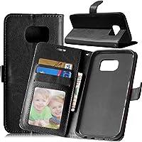 mooshion Samsung Galaxy S7Edge Flip Custodia a portafoglio [PU Pelle]