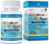 Nordic Naturals Children's Dha Xtra, Berry Punch Softgels, 636 mg, Pack of 90