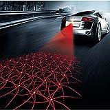 Auto Nebel Licht 12V Styling Multi Form Anti Kollision Heck Ende Auto Laser Schwanz LED Auto Bremse Auto Parkplatz Auto Warnlicht (Disco Style)