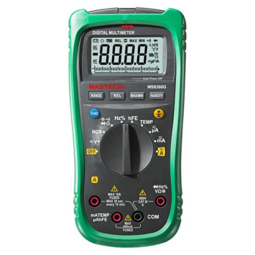 Digital-Multimeter MASTECH MS8360G, NCV -