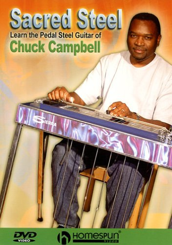 DVD-Sacred Steel-Learn the Pedal Steel of Chuck Campbell by Chuck Campbell (Pedal-steel-dvd)