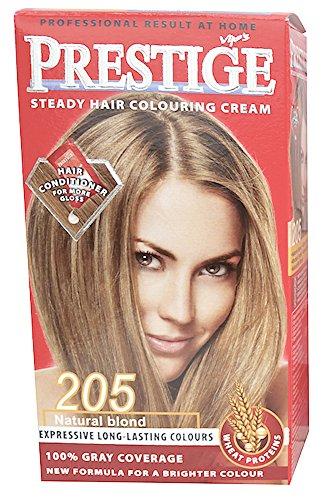Vip's Prestige - Crème colorante pour cheveux, couleur blond naturel N205