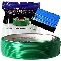 50m x 3mm Endostaplers Tape Finish Line Folios corte sin Cuchillo incl. Rapid Teck Raspador