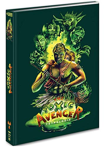 Image de The Toxic Avengers-Tétralogie [Édition Mediabook Collector Blu-Ray + DVD]