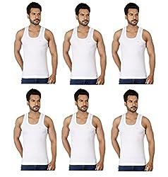 Rupa Frontline-RN Premium Combo of 6 Mens Vest (Size-95)