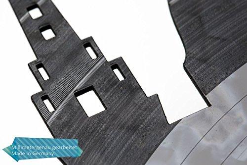 GRAVURZEILE Schallplattenuhr Köln – 100% Vereinsliebe – Upcycling Design Wanduhr aus Vinyl Made in Germany