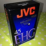 JVC EC45 EHG  Blank Tapes